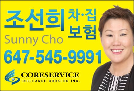 CORESERVICE INSURANCE BROKERS INC - 조선희 종합보험